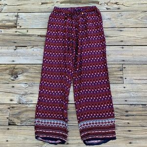 Punjammies by Sudara | Tribal stripe lounge pants